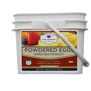 Picture of Powdered Eggs In a Bucket 144 Servings