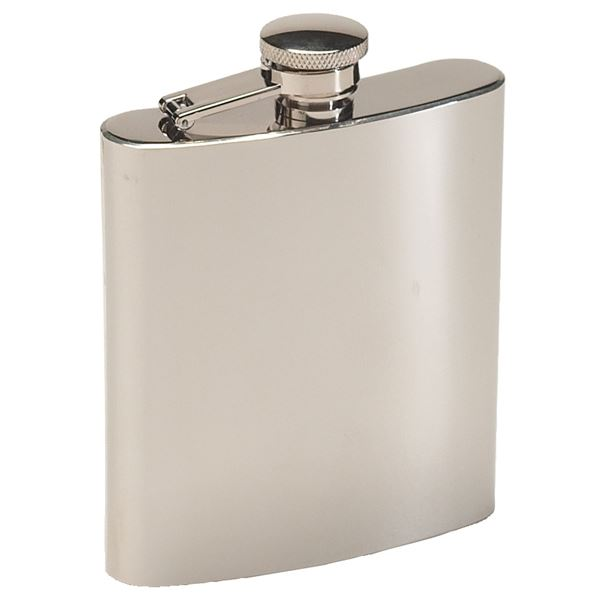 Flask, Stainless Steel 8 Ounce