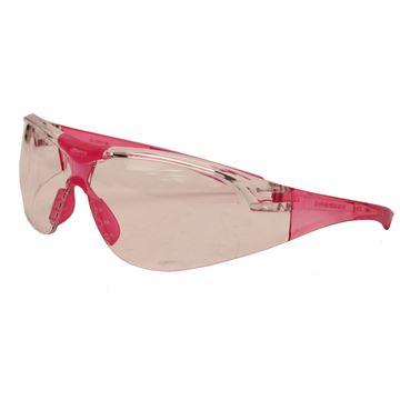 Picture of Youth Clear Glasses - Pink Temples