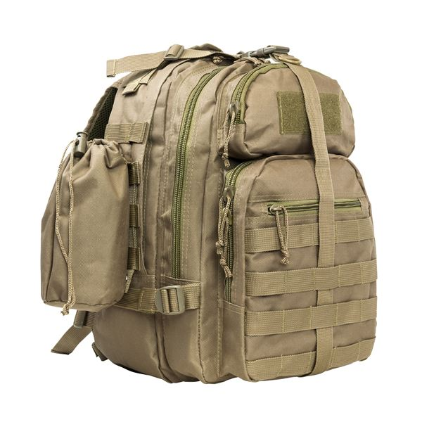 Vism Small Back Pack/Mono Strap/Tan