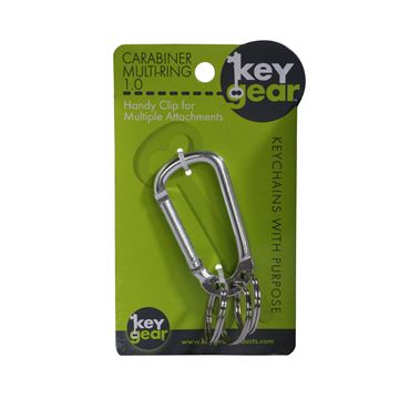 Picture of Carabiner Multi-Ring 1.0, Silver