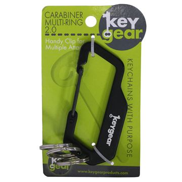 Picture of Carabiner Multi-Ring 2.0, Black
