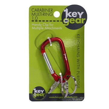 Picture of Carabiner Multi-Ring 1.0, Red
