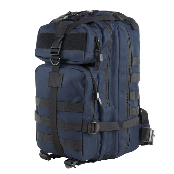 Vism Small Backpack/Blue With Black Trim