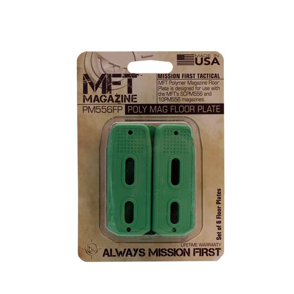 MFT Mags Polymer Mag Floor Plate /6 Green