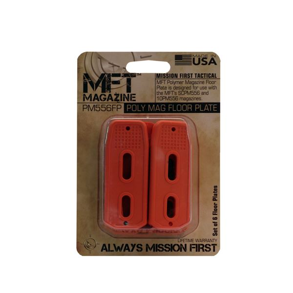 MFT Mags Polymer Mag Floor Plate /6 Orng
