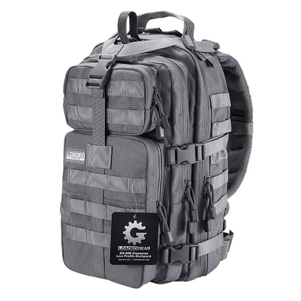 GX-400 Crossover Low Profile Backpack,Gry