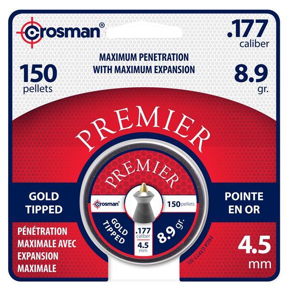 Premier Gold Tip Pellet .177 8.9gr /150