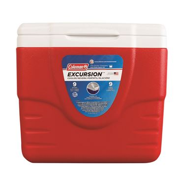 Picture of Cooler 9QT Excrsn Red No Tray Glbl C004