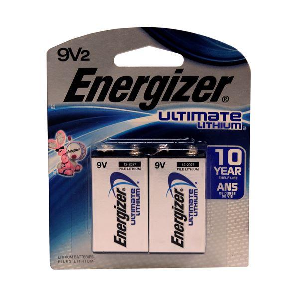 Energizer Ultimate Li 9V 2 EMOD At K Var