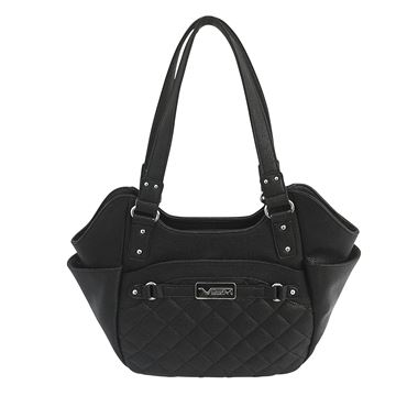 Picture of Concealed Carry Quilted Hobo Large- Blk