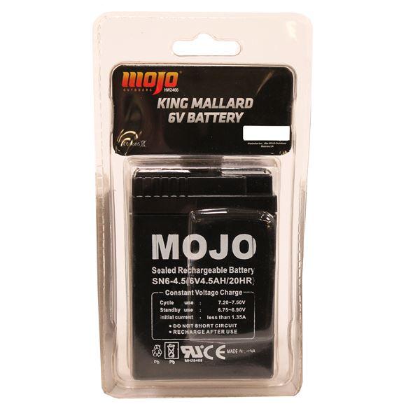 MOJO KING MALLARD Battery (6 volt)