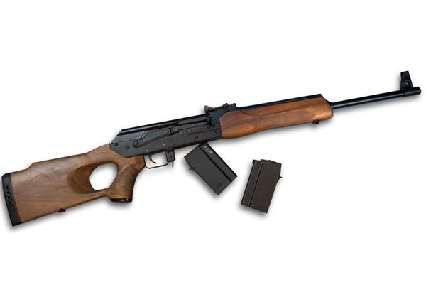 "Molot Vepr 6.5 Grendel 20.5"" Rifle, Walnut Stock"