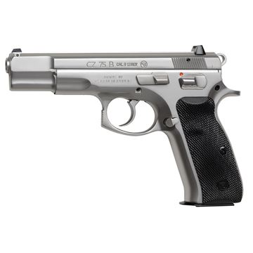 CZ 75 B, 9mm, matte stainless - 10rd mags 01128