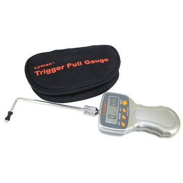 Lyman Digital Trigger Pull Gauge, Tool, Measures 0-12lb, 1/10 oz. Accuracy Zippered Case Gray Polymer Handle, 7832248
