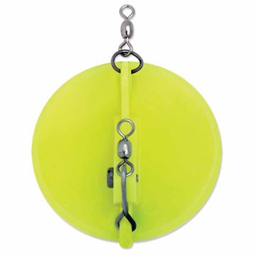 Picture of 1 Dipsy Diver  Chartreuse / White Bottom