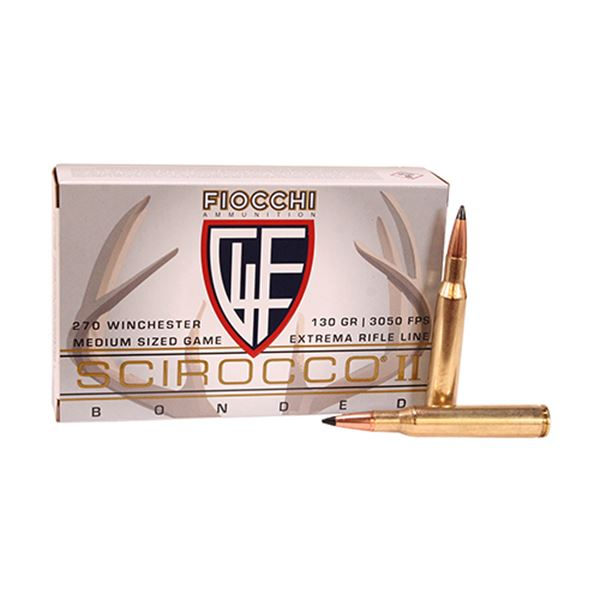 Picture of 270 WINCHESTER 130gr SCCIROCCO/20
