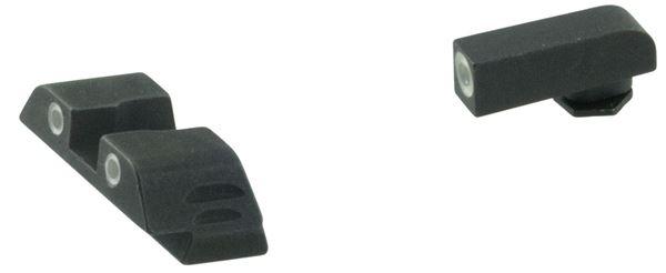 AMER GL5115  3DOT NS GLOCK GEN5 17/19  GREEN/YELLW