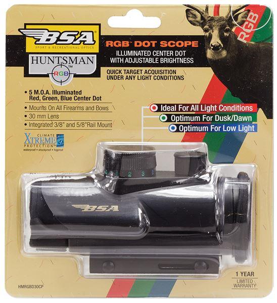 BSA HMRGBD30CP     RED DOT   30MM RGB