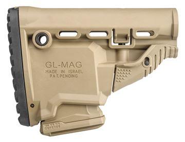 FAB FX-GLMAGT    GLMAG M4 SURVIVAL STOCK TAN