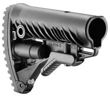 FAB FX-GLR16B    GLR16 AR15 M16 STOCK BLK