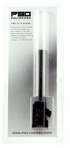 P80 G19-S-DLC       GLK19 STD BARREL BLK