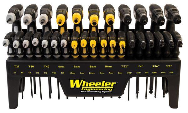 WHEELR 1081957 SAE/METRIC/HEX/TORX P-HANDLE   30PC