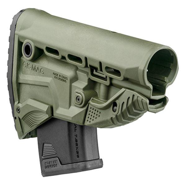 AK-47 Surv Bstk w/Built-in Mag Carrier-GN