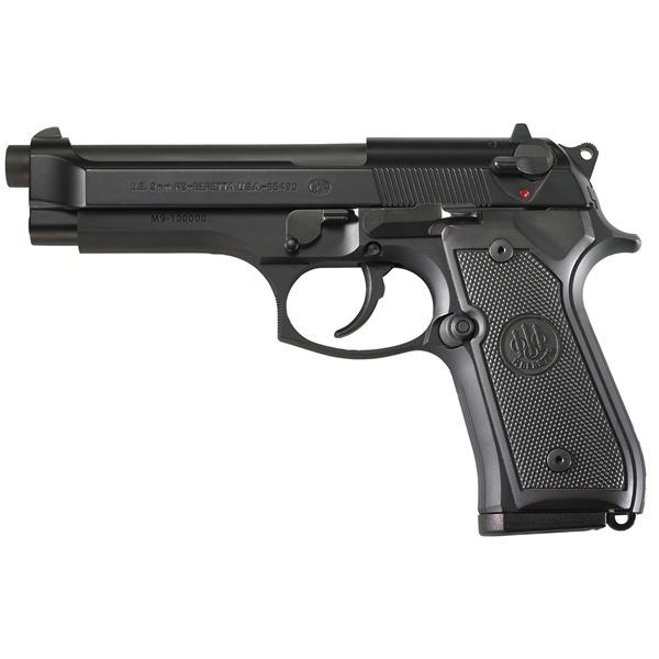 Beretta M9, Double Action, Full Size, 9MM,