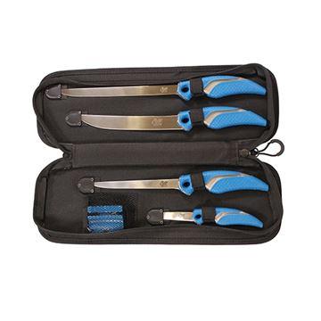 6 pc Fillet Knife Set w/1 Heavy Duty Case
