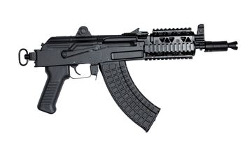 SAM7K Pistol 7.62x39mm Milled Receiver with Picatinny Quad Rail