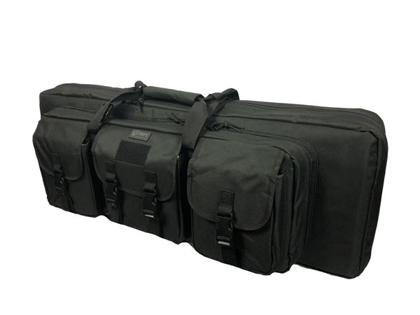 "36"" Double Rifle Case Black"