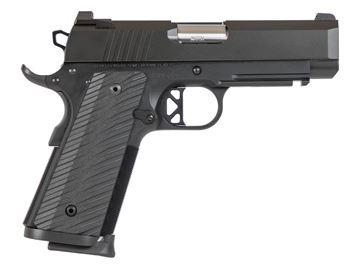 Dan Wesson Tactical Commander Pistol Black 9mm 9 round magazine