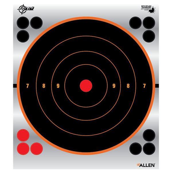 EZ AIM 5.8 REFLECTIVE BULLSEYE TGT, 8PP