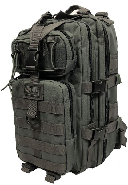 Anti-Venom 24 HR Assault Pack, Gun Metal