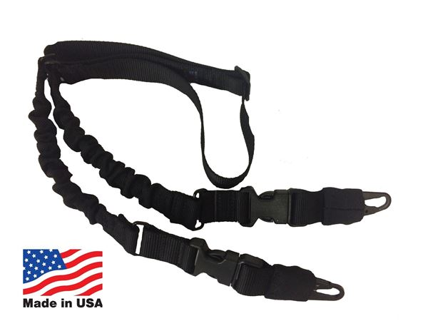 Hellfighter USA Made Single Point Rifle Sling Black