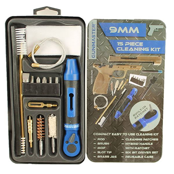 Slim Line 15 Piece  9mm Cleaning Kit