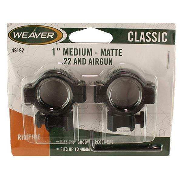 .22 Cal Ring Aluminum Medium Matte, Clam