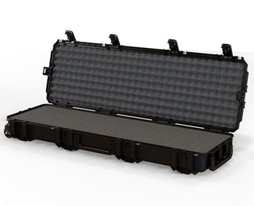 Seahorse 1630 Protective Long Case with Foam Black