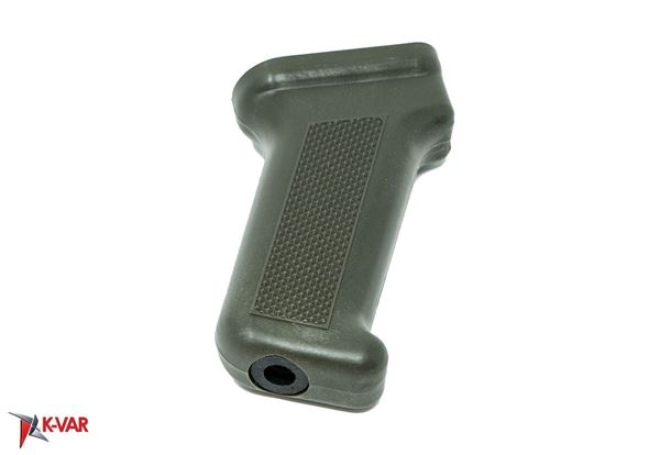 Pistol Grip AK-47 Milled and Stamped Receivers Metal Insert Reinforced Polymer OD Green