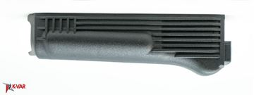 Lower Handguard, for Stamped Receiver, Polymer, Black, Steel Heat Shield, Arsenal Bulgaria