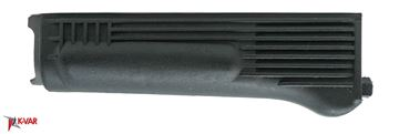 Lower Handguard for milled receiver, Polymer, Black, No heat shield, Arsenal Bulgaria