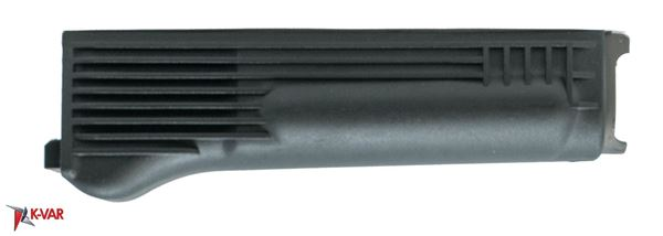Lower Handguard For Milled Receiver, Polymer, Black, Stainless Steel Heat Shield