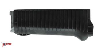 Lower Handguard for stamped receiver, Polymer, Black, Stainless steel head shield, US, Arsenal, Inc