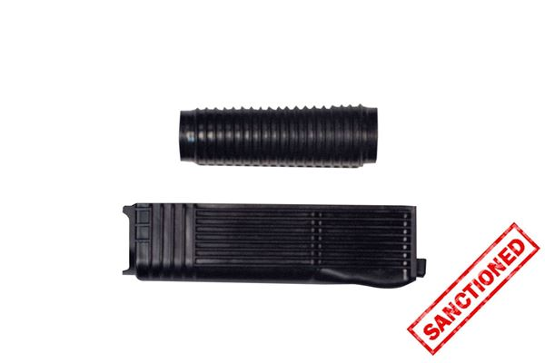 Black Polymer Handguard Set for RPK - Stamped Receiver (Upper and Lower)