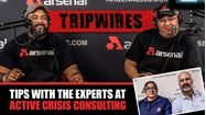 """Picture of COVID-19 CRISIS MANAGEMENT with Arsenal & Active Crisis """"TRIPWIRES"""""""