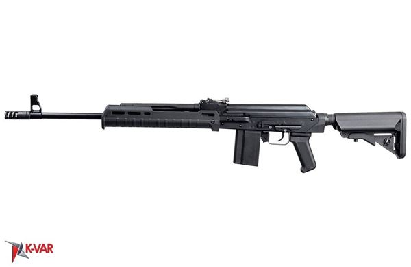 Molot Vepr 6.5 Grendel, 20.5-in barrel, AR-15 stock, Magpul® polymer handguard and Arsenal pistol grip, two 10-rd magazines