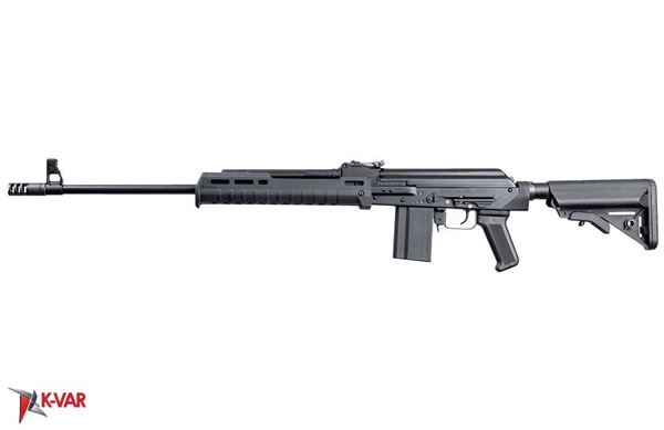 Molot Vepr 6.5 Grendel, 23.2-in barrel, AR-15 stock, Magpul® polymer handguard and Arsenal pistol grip, two 10-rd magazines