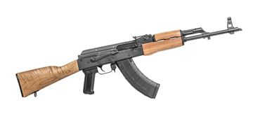 Picture of WASR-10 AK47 Blue Finish Wood Stock