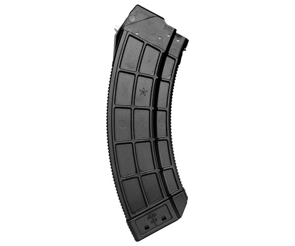 Picture of US Palm 7.62x39mm Black 30 Round Magazine with Stainless Steel Latch Cage